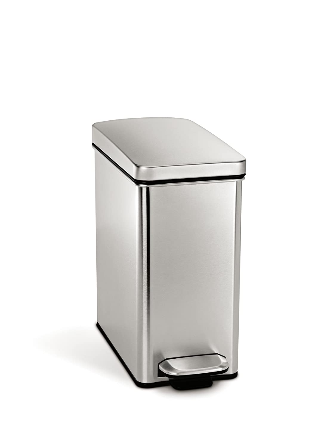 Modern Toilet Trash Can Square Step W Lid Cabinet Small