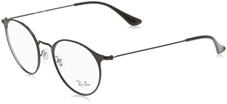 07ac6c7786d40 Ray-Ban RX6378 Glasses in Black Matte Black RX6378 2904 49 49 Clear ...