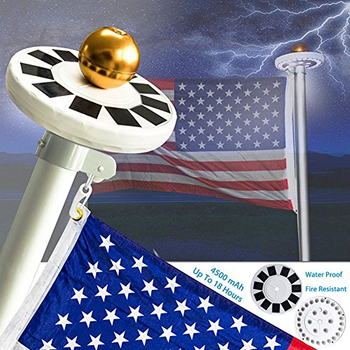Inground Led Flagpole Light - 7