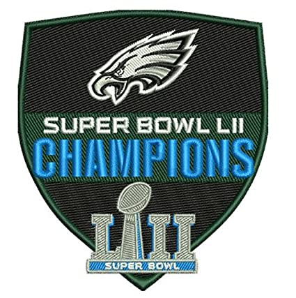 big sale b4f38 4b913 2018 Super Bowl 52 Eagles Champions Patch Super Bowl 52 LIIBACK Ordered Item