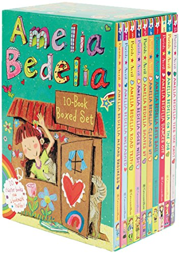 Amelia Bedelia Chapter Book 10-Book Box Set