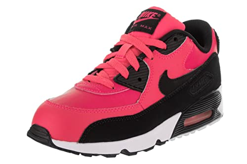 Nike AIR MAX 90 LTR (PS) Girls Running Shoes 833377: Amazon