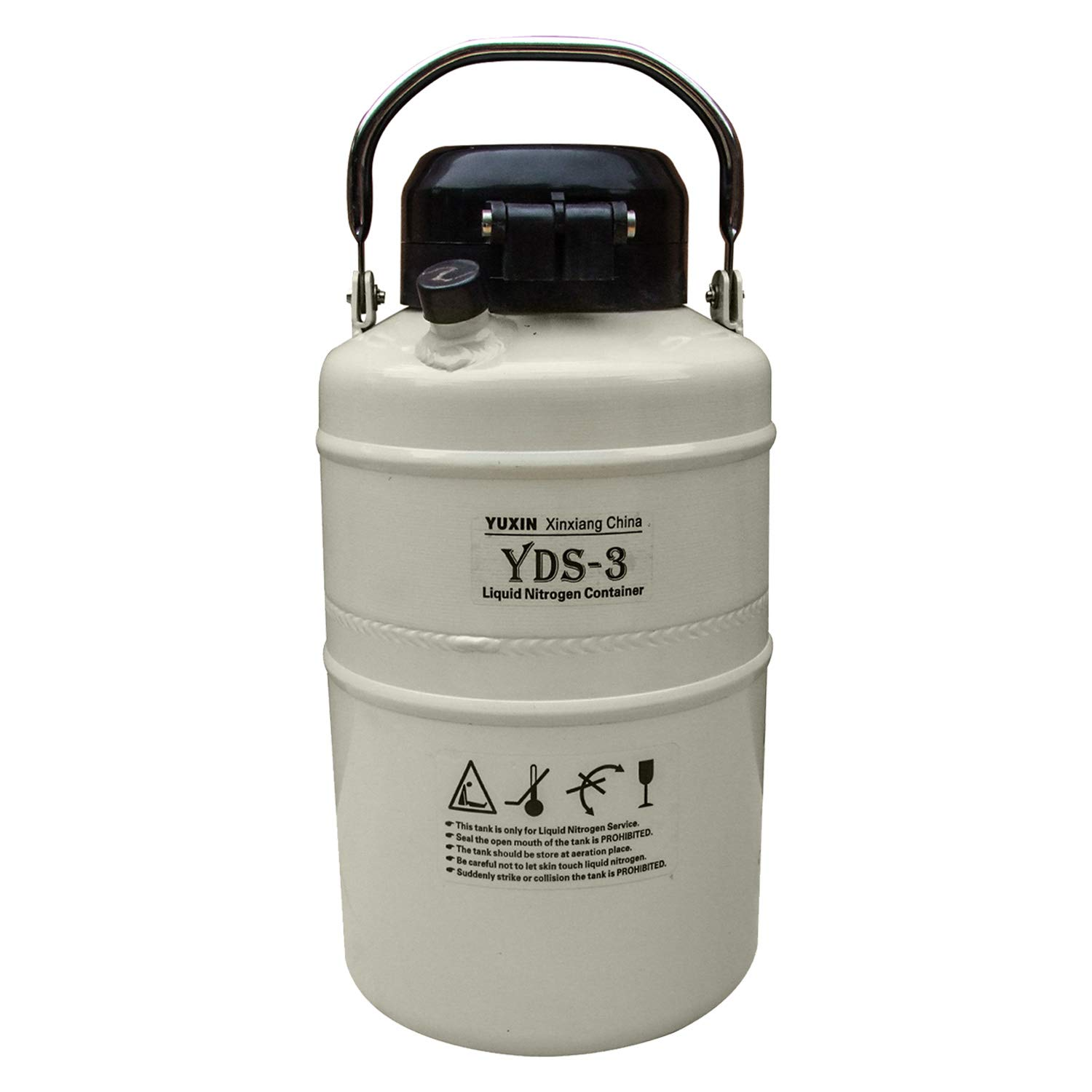 HFS (Tm) 3 L Cryogenic Container Liquid Nitrogen Ln2 Tank with