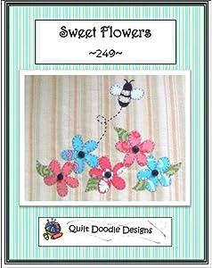 Quilt Doodle Designs Ptrn Sweet Flower