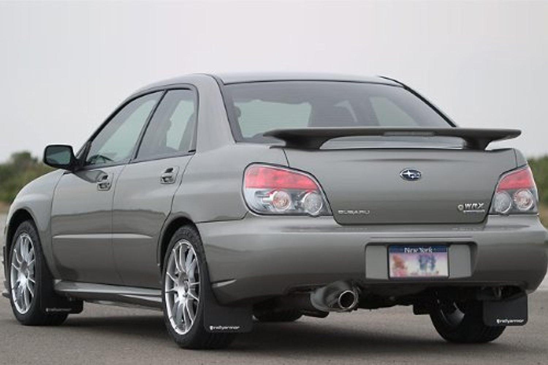 2002-2007 Subaru Impreza WRX Splash Guard Mud Flap Rally Armor Front Left 02-07