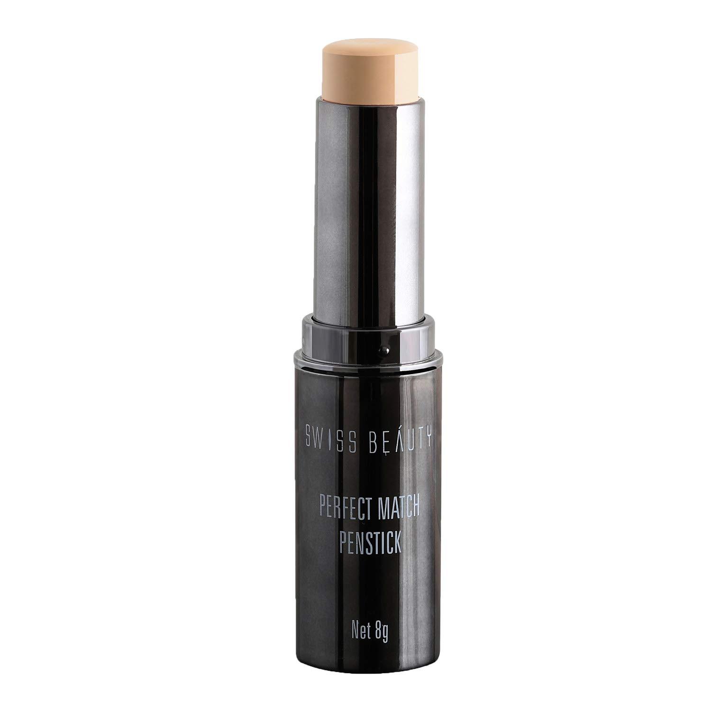 Swiss Beauty Perfect Match Foundation Panstick, Face MakeUp