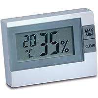 TFA Dostmann digital termohygrometer, Flerfärgad, 19.3 x 4.2 x 26.7 cm