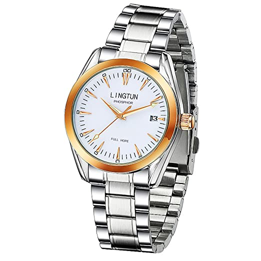 HombresS relojes mecánicos, Relojes luminosos relojes deportivos clásicos-D