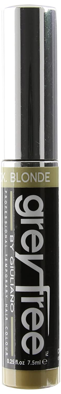 Greyfree Professional Temporary Hair Color, Dark Blonde, 0.25-Ounce 2409002