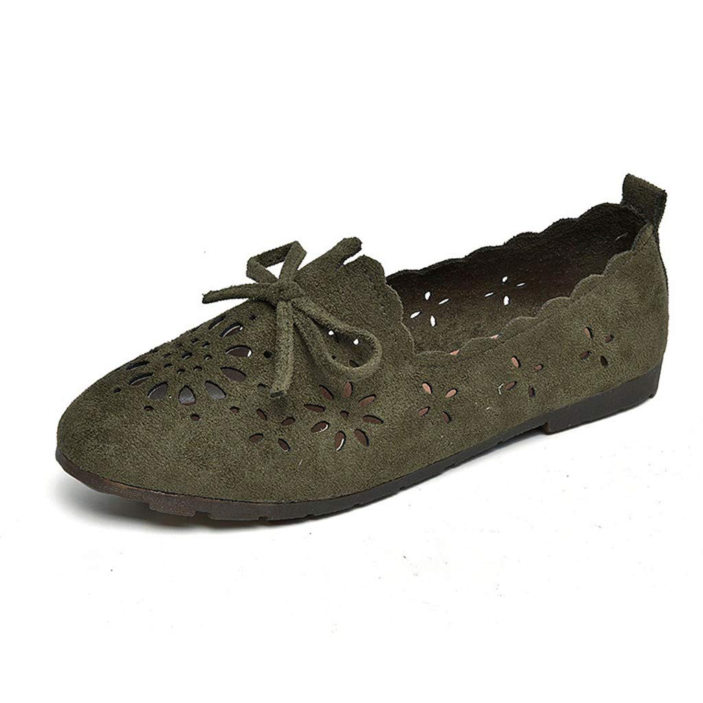 Aribelly Mother/'s Day Clearance Sale Womens Preforated Slip On Sneakers Sandals L1