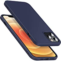 ESR Soft Case for iPhone 12, iPhone 12 Pro [Silicone Rubber Case] [Comfortable Grip] [Screen & Camera Protection] – Navy…