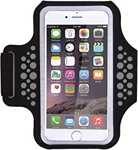 Triomph Armband for iPhone X, iPhone 8 Plus, 7 Plus, 6 Plus, 6s Plus, iPod Galaxy S6, S6 Edge, S7 Edge Plus with Key Cards Money Holder, for Running, Sports, Jogging, Hiking, Biking 5.8''