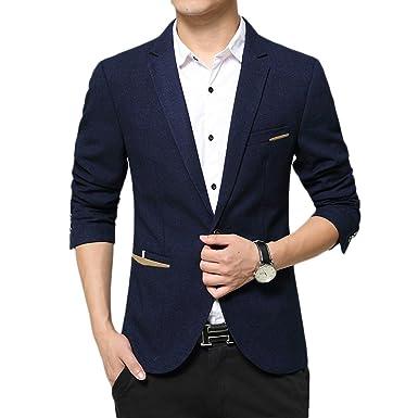 Insun Herren Sakko Business Anzug Einfarbig Freizeit Blazer Abschlussball Smoking Hochzeit