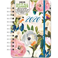 Orange Circle Studio 2020 Do It All Planner, August 2019 - December 2020, Bella Flora