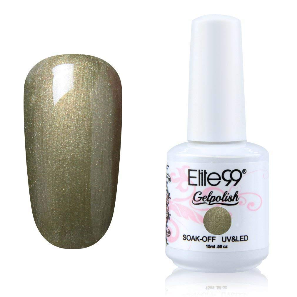 Elite99 Esmaltes Semipermanentes de Uñas en Gel VU LED Esmaltes de Uñas Soak Off para Manicura 15ml -1621: Amazon.es: Belleza