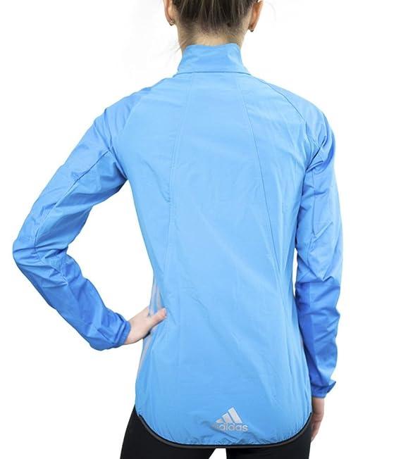 adidas Jacke Tour Commuter Damen solar BlueReflective