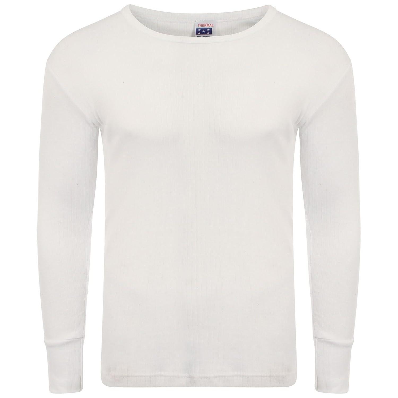 Heatwave® Men's Thermal Long Sleeve Top, Warm Underwear Baselayer, S M L XL XXL Thermals