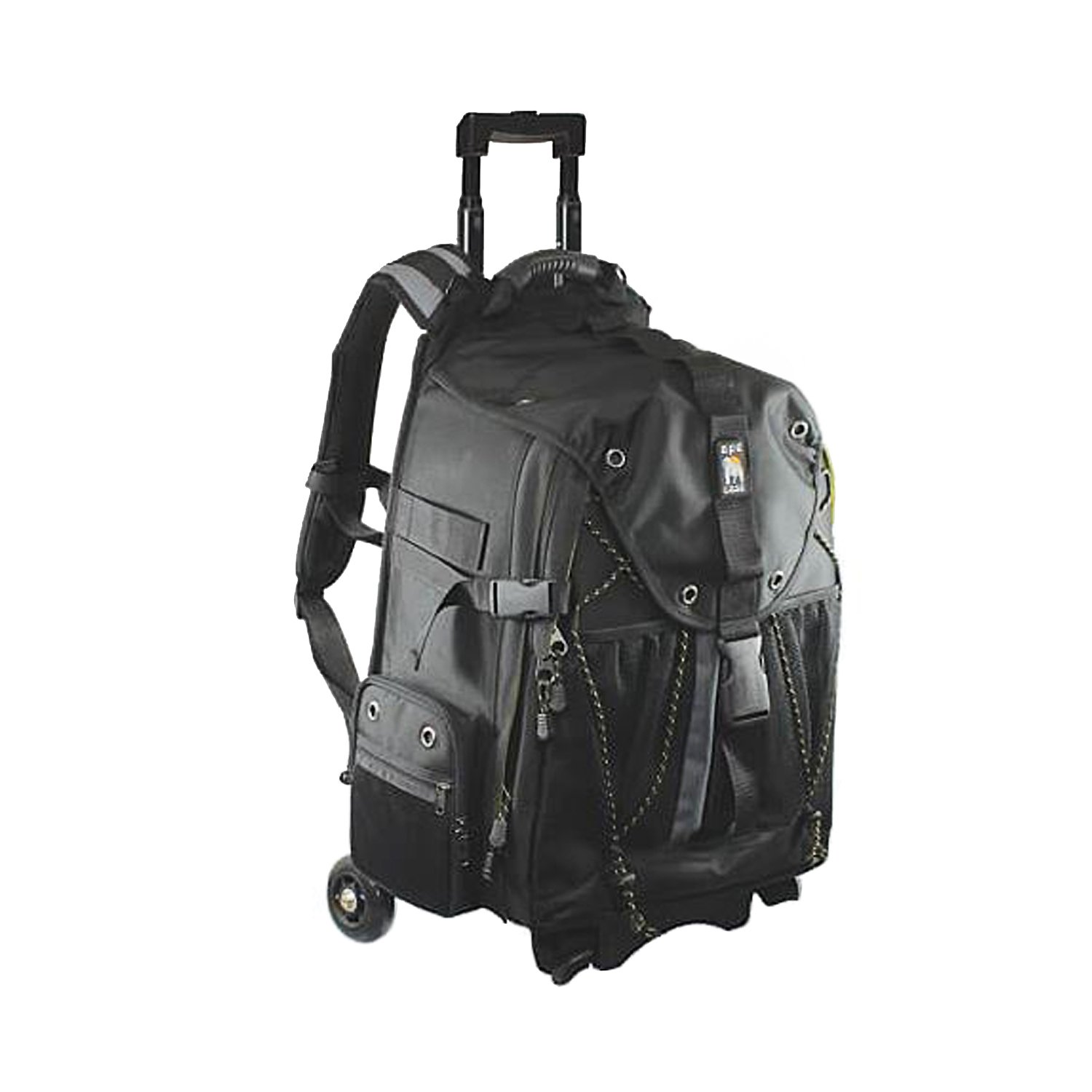 Ape Case, ACPRO4000, Backpack with wheels, Laptop compartment, Padded, Rain cover included, Adjustable straps, Camera backpack, Black (ACPRO4000) by Ape Case (Image #1)