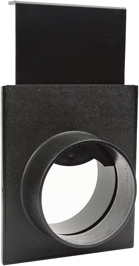 Big Horn 11442 4-Inch ABS Plastic Quick Coupling/Disconnect Blast Gate for Vacuum/Dust Collector (Replaces Jet JW1007)