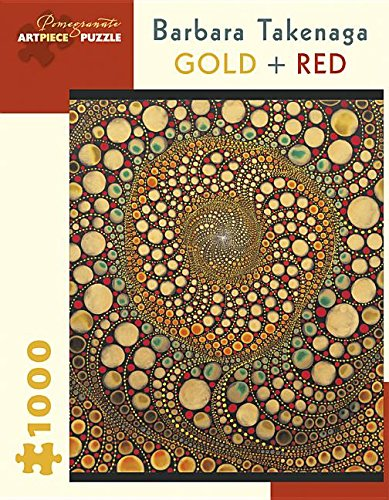 Barbara Takenaga Gold + Red 1,000-piece Jigsaw Puzzle