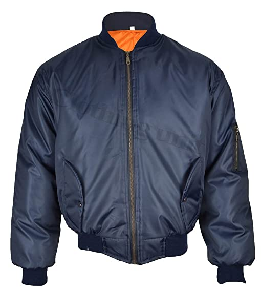 Mens MA1 Bomber Jacket: Amazon.co.uk: Clothing