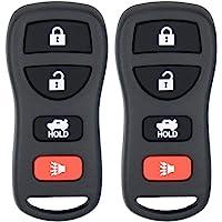 Keyless2Go Replacement for Keyless Entry Car Key Fob Remote for KBRASTU15 CWTWB1U733-2 PACK