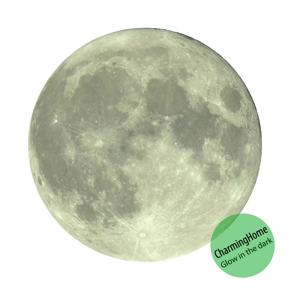 glow in the dark moon sticker moon decals glow moonlight glow glow in the dark moon sticker moon decals glow moonlight glow in the dark moon wall decal sticker 7 87 inches 20 cm by charminghome amazon com