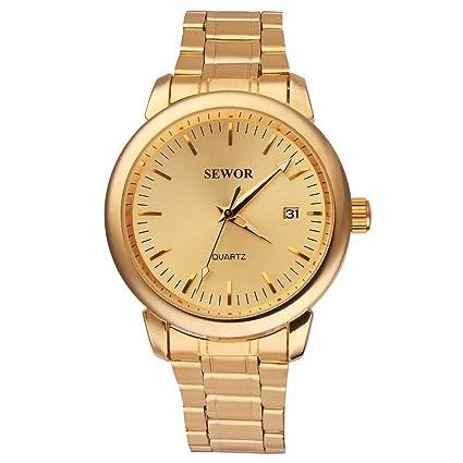 Uniquebella Edelstahl Uhr Automatik Mechanische Kalender Armbanduhr Herrenuhren Geschenk
