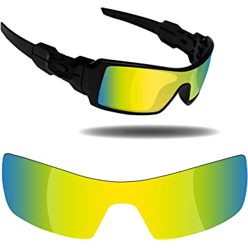 33aeec486d Fiskr Anti-Saltwater Replacement Lenses for Oakley Oil Rig Sunglasses -  Various Colors