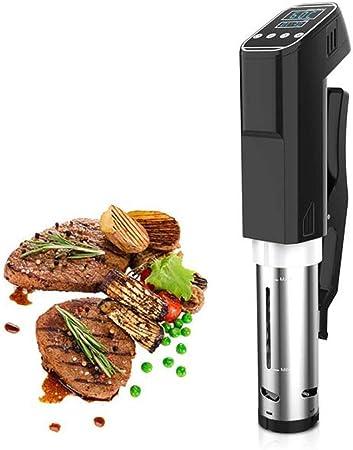 Opinión sobre DLT Sous Vide Immersion Cooker, Máquina de circulación Digital para Cocina y Uso Profesional, Steak Water Cooker, Quiet Vacuum, 800W, Negro