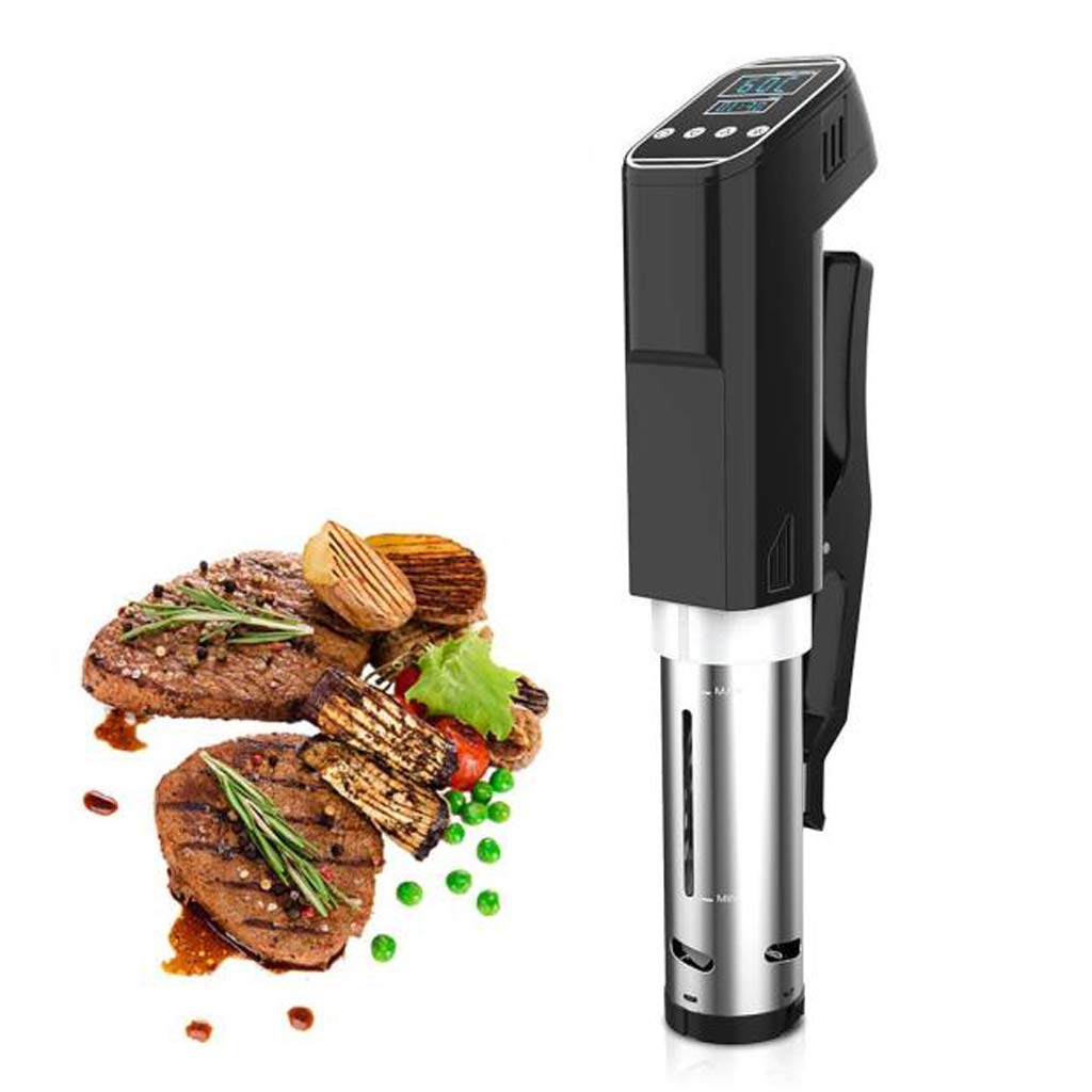 Sous Vide Immersion Cooker, Digital Circulator Machine For Kitchen And Professional Use, Steak Water Cooker, Quiet Vacuum, 800W, Black