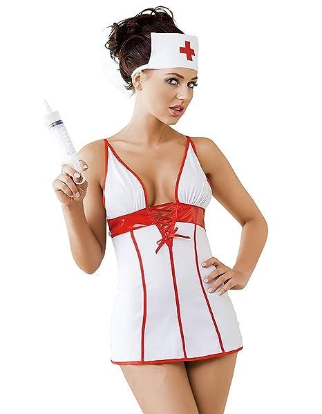 Amazon.com: Irall - Vestido de enfermera para mujer, 2 ...