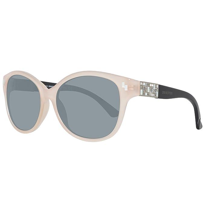 Swarovski SK0036-5772Z Gafas de Sol, Shiny Pink, 57 para ...