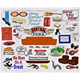 "CafePress Friends TV Show Collage Soft Fleece Throw Blanket, 50""x60"" Stadium Blanket"