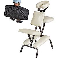 TecTake Silla de Masaje Fisioterapia rehabilitacion sillón