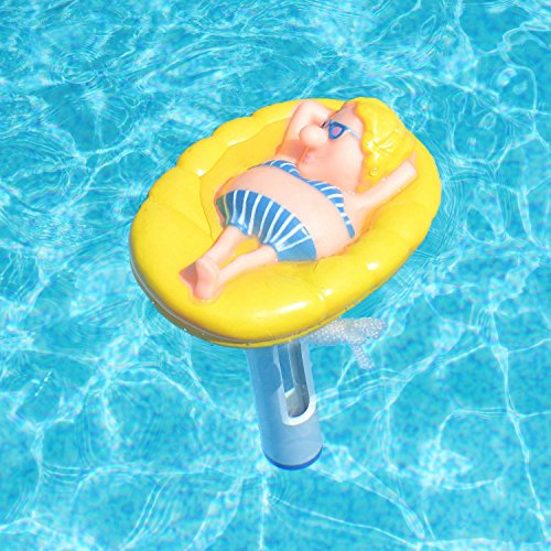 Milliard Floating Pool Thermometer Floatin 39 Gal Large Size With String For Outdoor Indoor