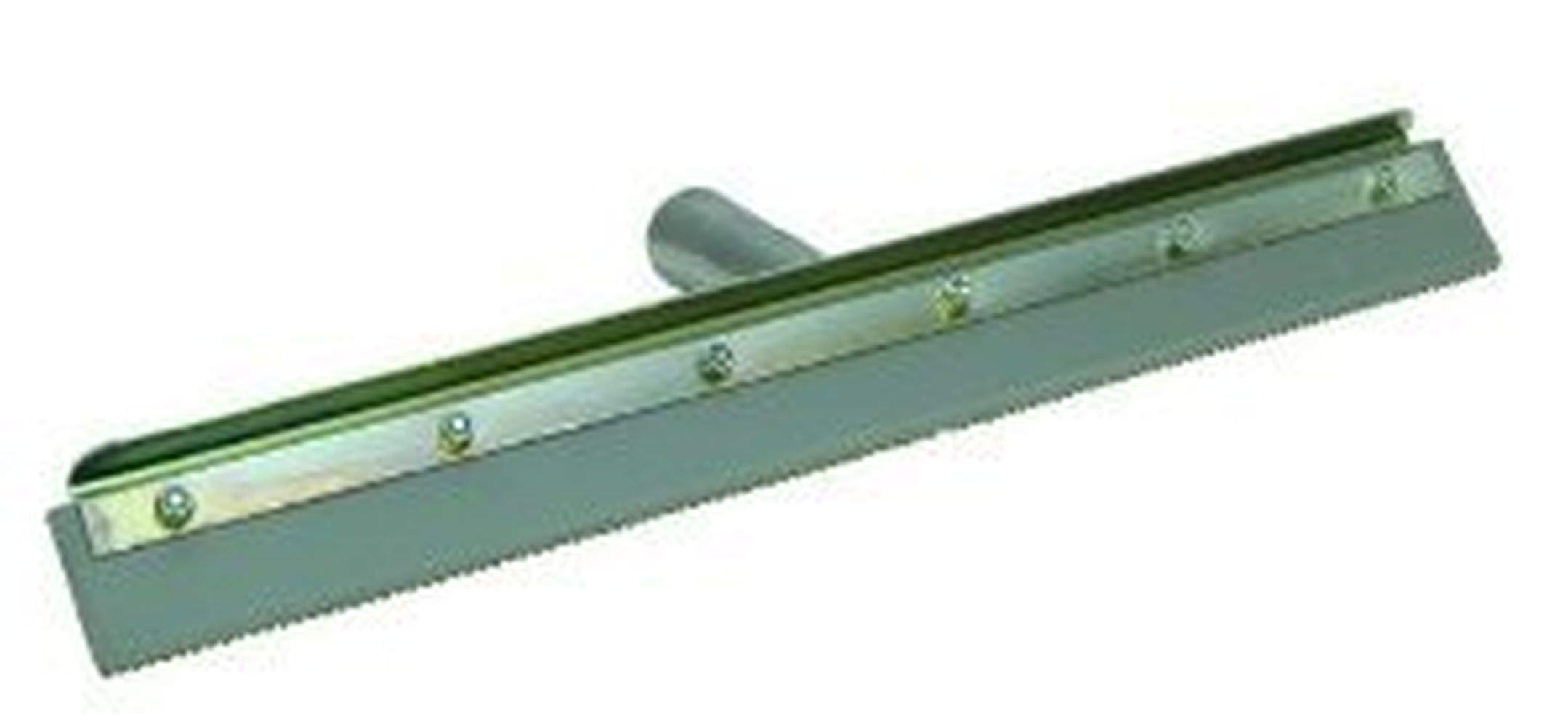 QLT by Marshalltown 16843 24-Inch Straight Notched Squeegee Complete w/Frame with 1/4-Inch Notch by Qlt By Marshalltown (Image #1)