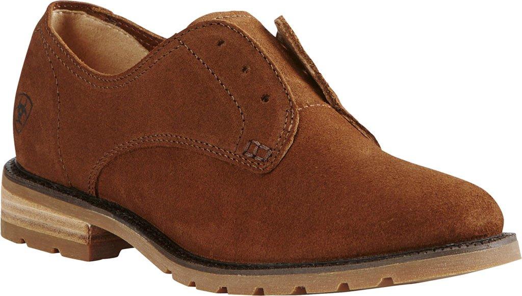 Ariat Women's Vale Country Shoe B01LWITHH4 6.5 B / Medium(Calf Width) Bronzed Brown