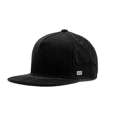 7a3231bdf07 melin Men s Stealth Corduroy Snapback Hat One Size Black at Amazon ...