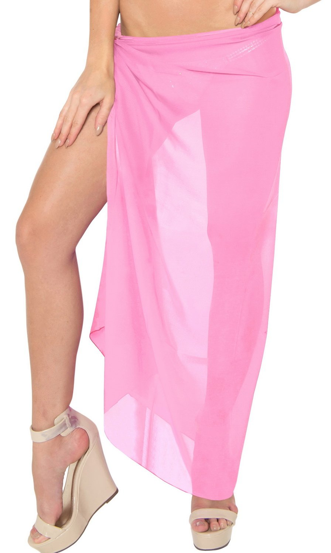 La Leela SWIMWEAR レディース B00GX612ZW Solid Pink