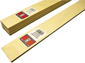 Midwest Products Craft Plywood sLAT, 2x1/4x36-Inches, Set of 5