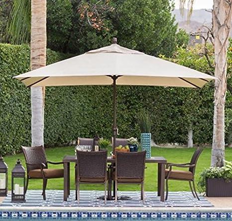 Offset Patio Umbrella,Large Outdoor Umbrella, Sun Shades For Patios,8 x 11 - Amazon.com : Offset Patio Umbrella, Large Outdoor Umbrella, Sun