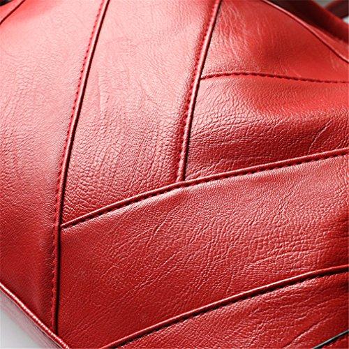 Ladies Red Bag Handbag BagsWomen Tote Shoulder Bags Handbags Leather Women xTwC0qAZ