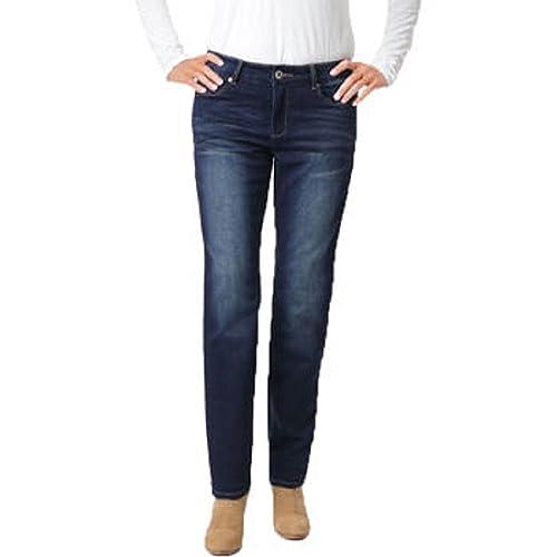"Buffalo David Bitton Ladies' ""Boyfriend"" Style Knit Jean-bleach Blasted"
