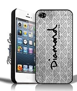 Diamond Supply Co DMND Logo (black & white) iPhone 4/4s Case By MC