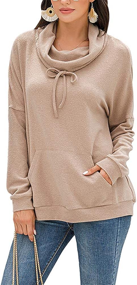 ZFQQ Otoño/Invierno 2020 Nuevo suéter con cordón de Color sólido de Cachemir para Mujer Top de Felpa