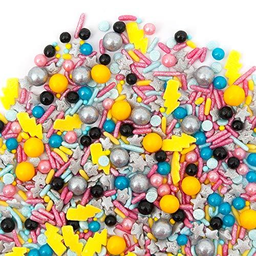 Sprinkles | POP STAR Sprinkle Medley 8oz | Gorgeous Sprinkle Blends for Every Occassion | GLUTEN FREE. NUT FREE. DAIRY FREE.