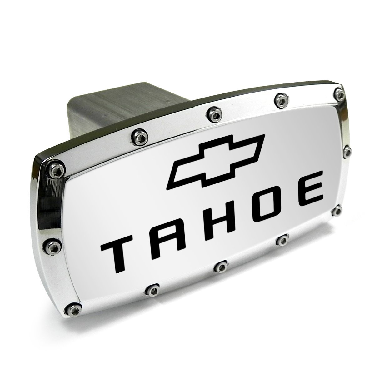 Chevrolet Tahoe Engraved Billet Aluminum Tow Hitch Cover