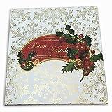 Bath Bomb Press Machine Saponificio Artigianale Fiorentino Buon Natale Holiday Luxury Soap Set 6x75g