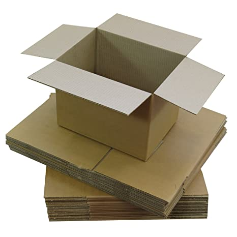 Triplast TPLBX25SINGL7X5X5, caja de cartón pequeña para envíos postales, 178 x 127 x 127